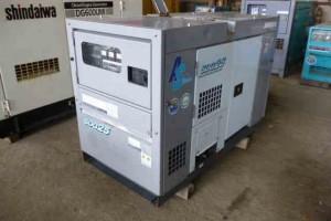 Máy phát điện cũ Komatsu 25kva