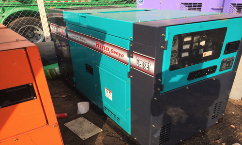 Máy phát điện cũ 45kva Mitsubishi