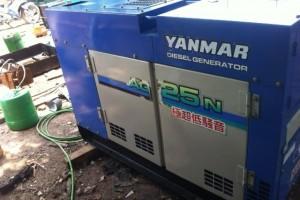 Máy phát điện cũ Yanmar 30kva