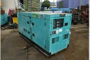 Máy phát điện cũ Hino 125kva