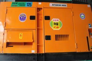 Máy phát điện cũ Mitsubishi 125kva