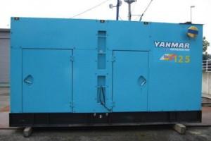 Máy phát điện cũ 125kva Yanmar
