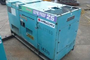 Máy phát điện cũ 25kva Mitsubishi