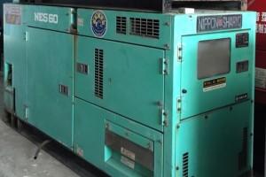 Máy phát điện cũ Komatsu 60kva