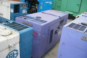 Máy phát điện cũ Hino