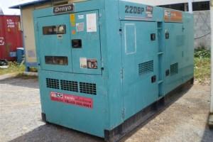 Máy phát điện cũ Komatsu 200kva