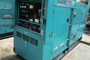 Máy phát điện cũ 250kva Mitsubishi