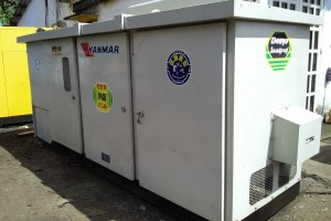 Máy phát điện cũ Yanmar 300kva