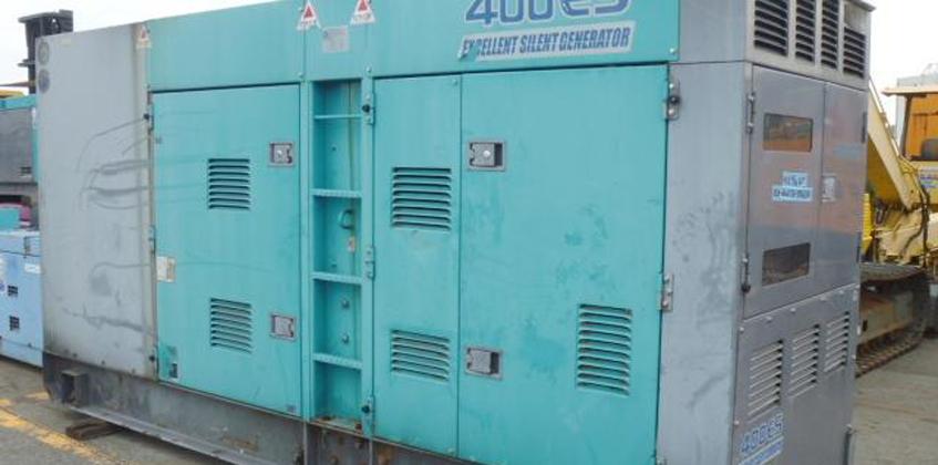 Máy phát điện cũ 400kva Komatsu