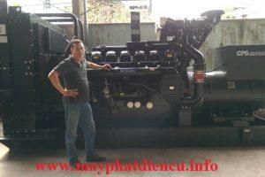 Máy phát điện cũ 1250kva Perkins